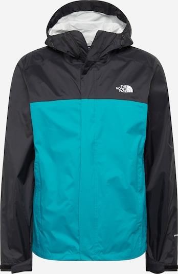 THE NORTH FACE Sportjas 'VENTURE' in de kleur Turquoise / Zwart, Productweergave