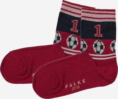 FALKE Socke in rot / schwarz / weiß, Produktansicht