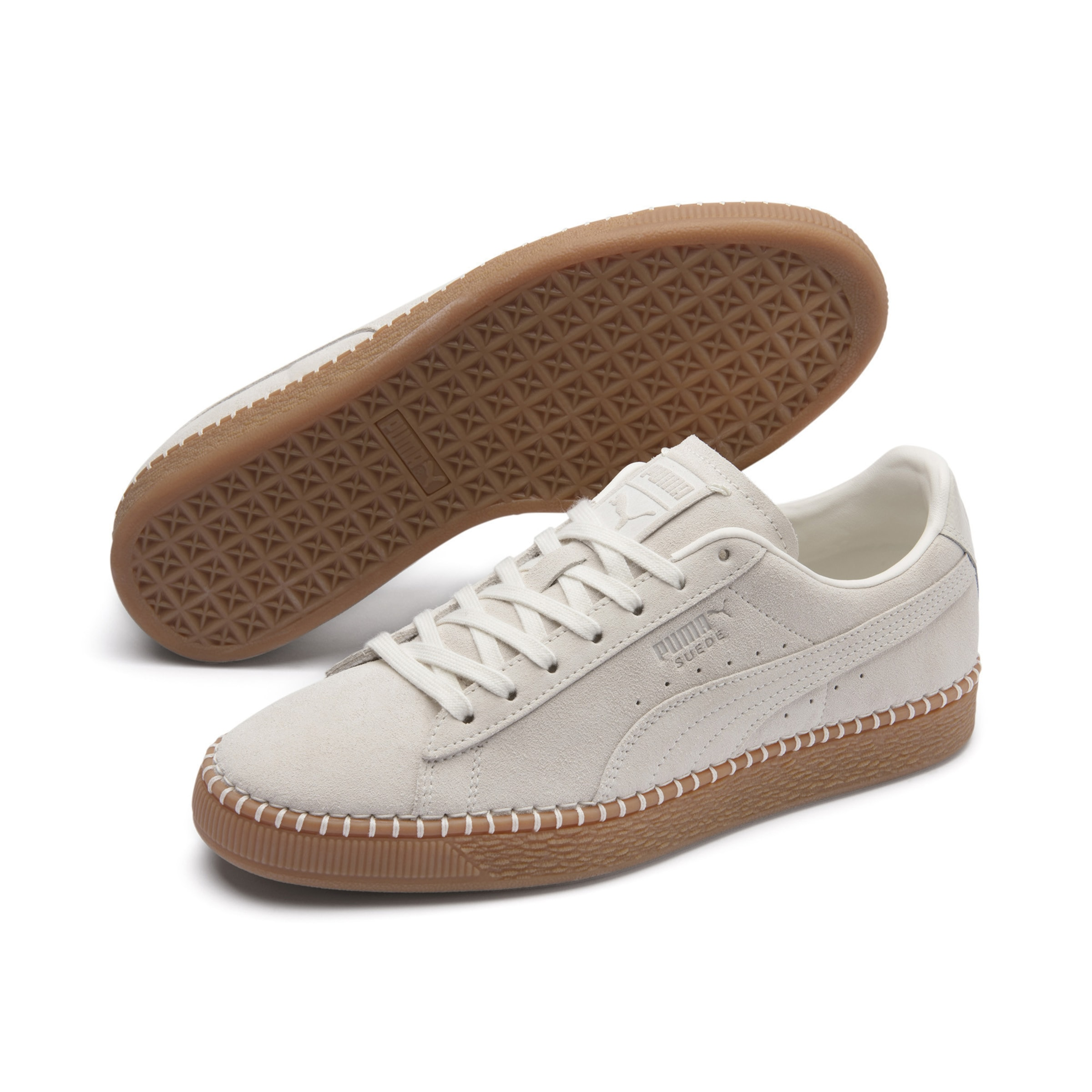 In Stitch' Puma Blanket Classic 'suede Sneaker Offwhite mOwN80vnyP