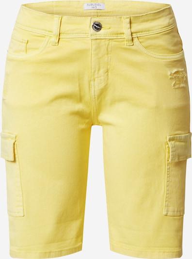 Sublevel Shorts in gelb, Produktansicht
