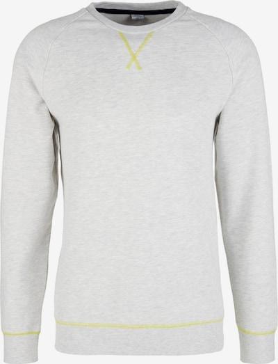 s.Oliver Sweatshirt in gelb / weiß, Produktansicht