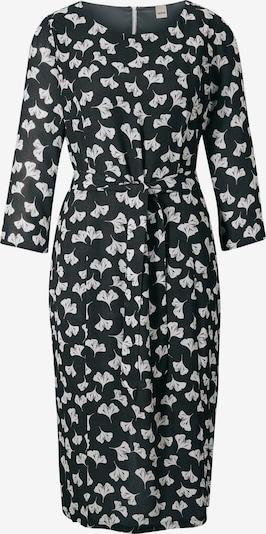 heine Kleid in schwarz / naturweiß: Frontalansicht
