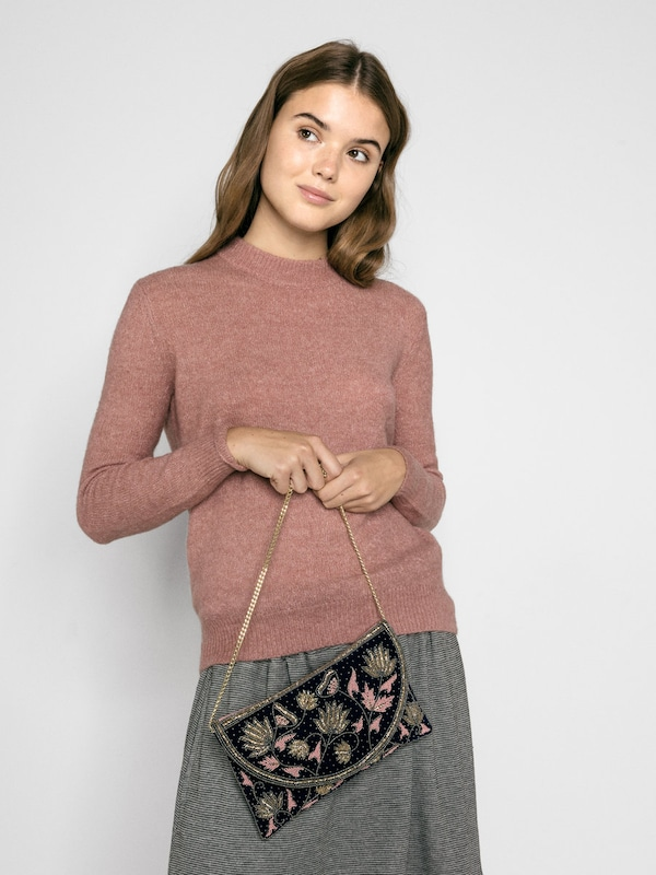 Pieces Shoulder Bag With Pearl Details