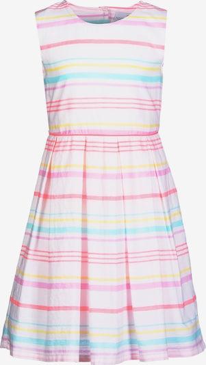 happy girls Kleid in hellblau / pink / hellpink / weiß, Produktansicht