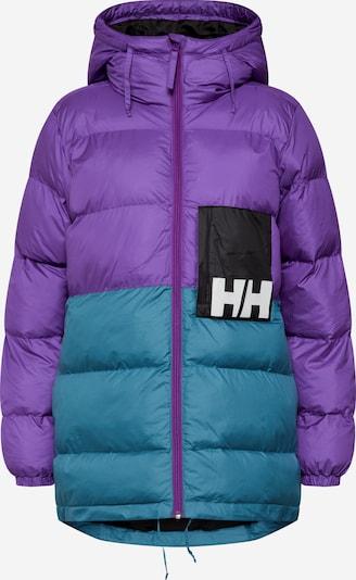 HELLY HANSEN Veste d'hiver en pétrole / violet, Vue avec produit