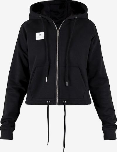 MOROTAI Bluza rozpinana sportowa ' Box Full Zip Hoodie ' w kolorze czarnym, Podgląd produktu