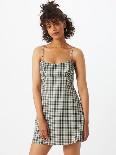 Motel Šaty 'Valy Brandy' - béžová / zelená / černá, Model/ka