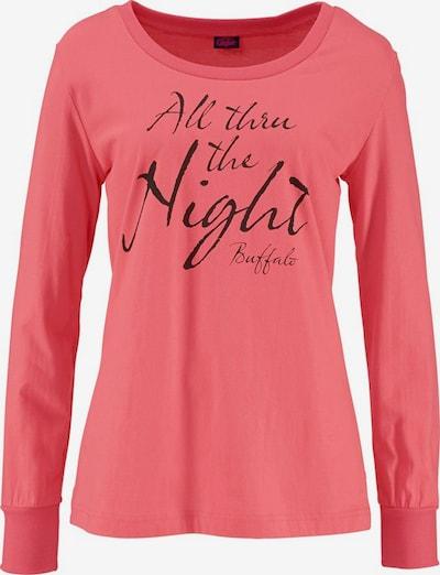 BUFFALO Pyjama in grau / koralle, Produktansicht
