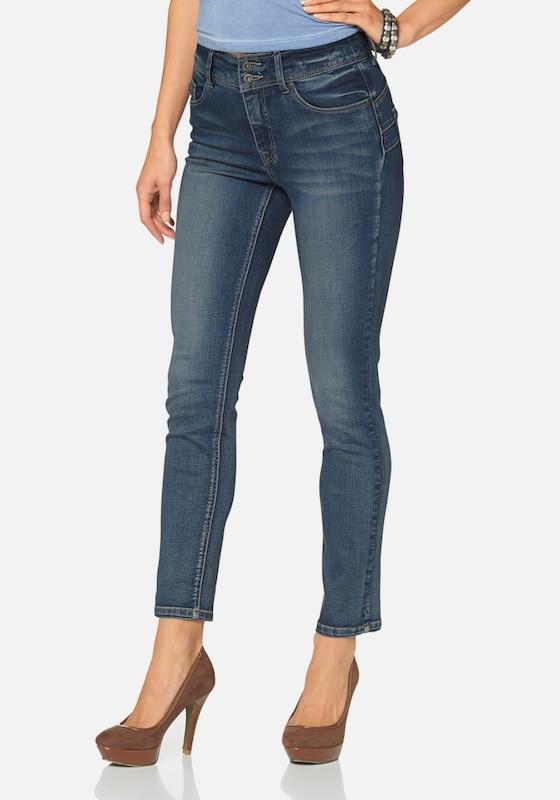 ARIZONA High-waist-Jeans 'Ankle-Slim'