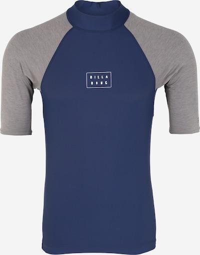 BILLABONG T-Shirt fonctionnel en bleu marine / gris, Vue avec produit