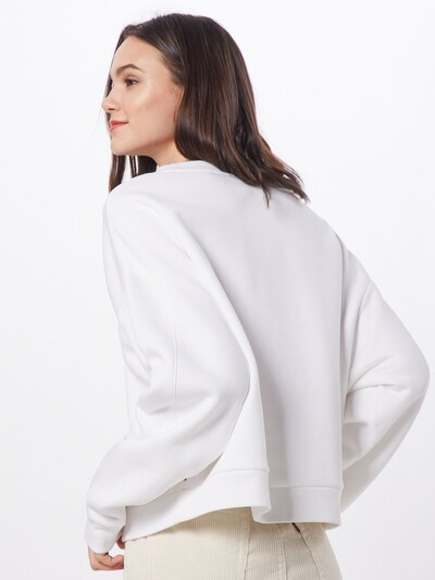 LEVI'S Sweatshirt 'GRAPHIC DIANA CREW' in de kleur Zwart / Wit: Achteraanzicht