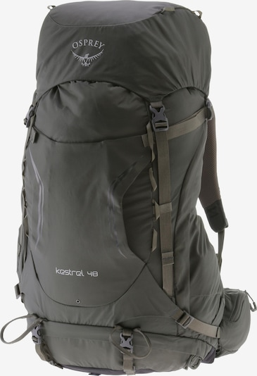 Osprey Rucksack 'Kestrel 48' in dunkelgrün, Produktansicht