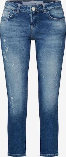 Goldgarn Jeans 'Rosengarten Cropped' in blau, Produktansicht