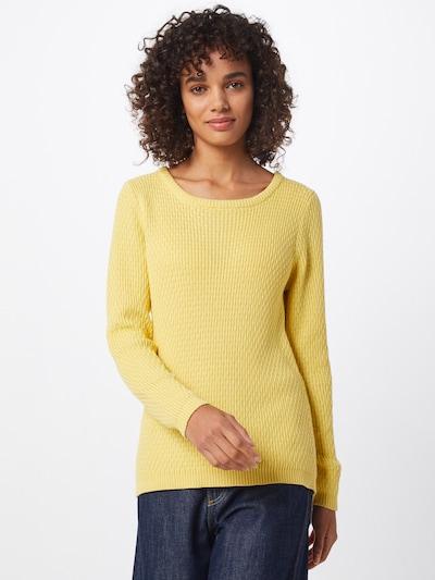 ICHI Pullover 'IHKARNA LS' in gelb, Modelansicht