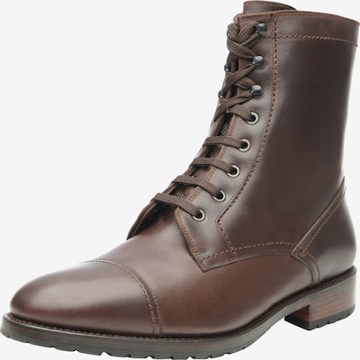 SHOEPASSION Winterboots 'No. 672' in schoko: Frontalansicht