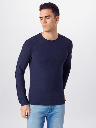!Solid Pullover in navy: Frontalansicht