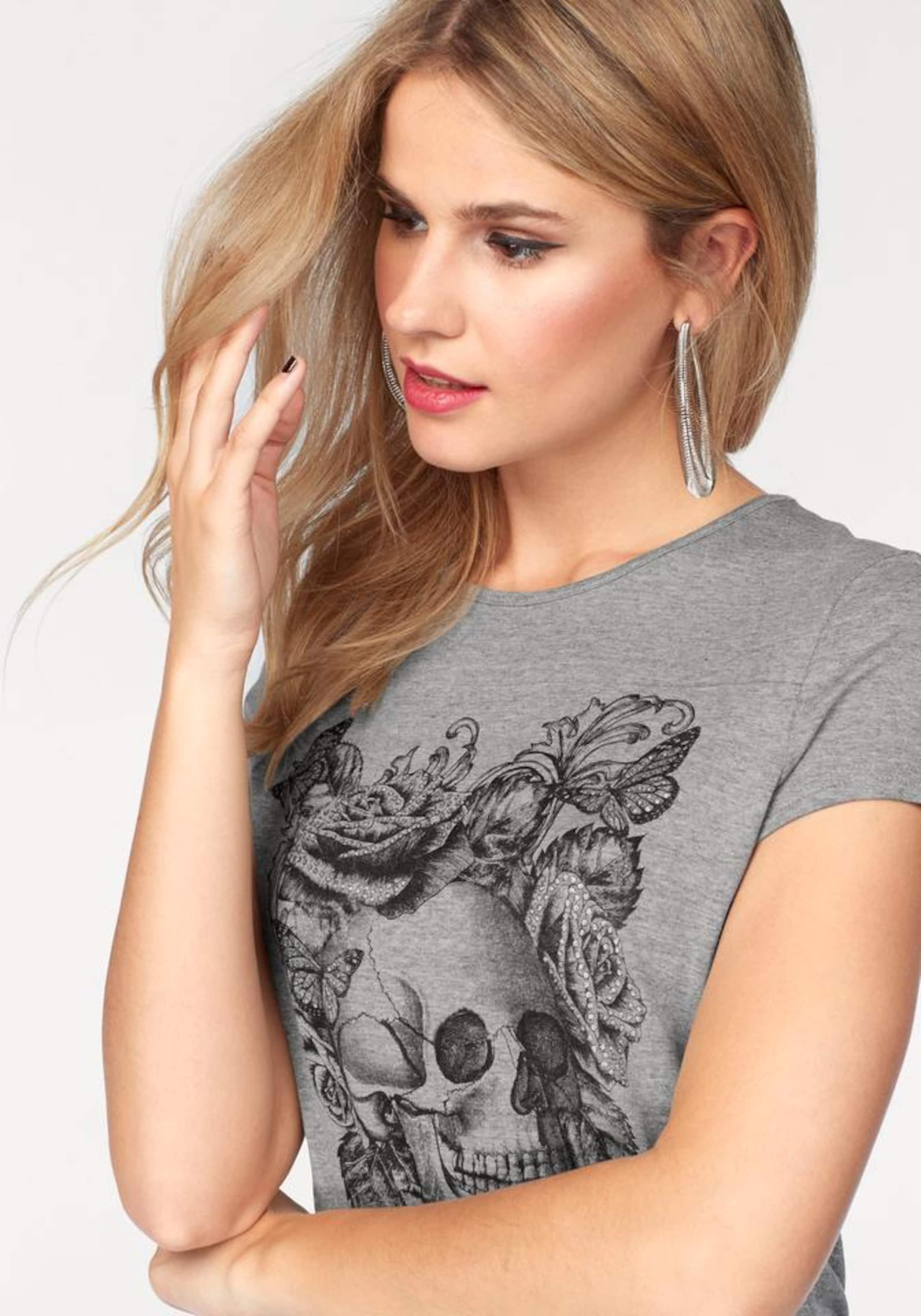 Neue Stile Classic Günstig Online MELROSE Print-Shirt Outlet Rabatt Authentisch fTqGufaKD