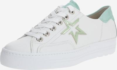 Sportbačiai be auliuko iš Paul Green , spalva - mėtų spalva / balta, Prekių apžvalga