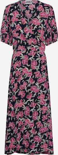 JUST FEMALE Kleit 'Alda' roheline / roosa / must, Tootevaade