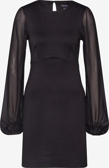 NEW LOOK Kleid 'go chiffon bell' in schwarz, Produktansicht