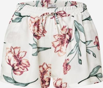 Hailys Shorts 'Rachel' in creme / mischfarben, Produktansicht