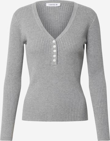 EDITED Sweater 'Alesia' in Grey