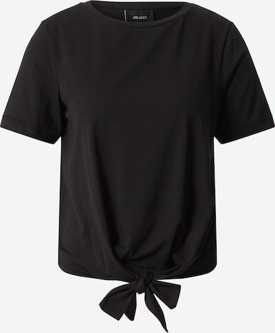 OBJECT Shirt 'OBJSTEPHANIE' in schwarz, Produktansicht
