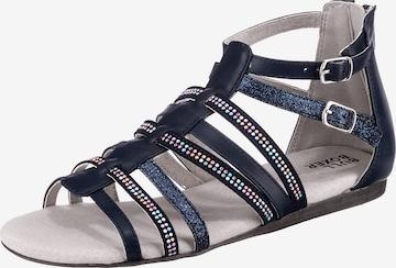 BULLBOXER Sandale in Blau