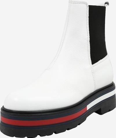 Tommy Jeans Botki Chelsea w kolorze granatowy / czerwony / białym, Podgląd produktu