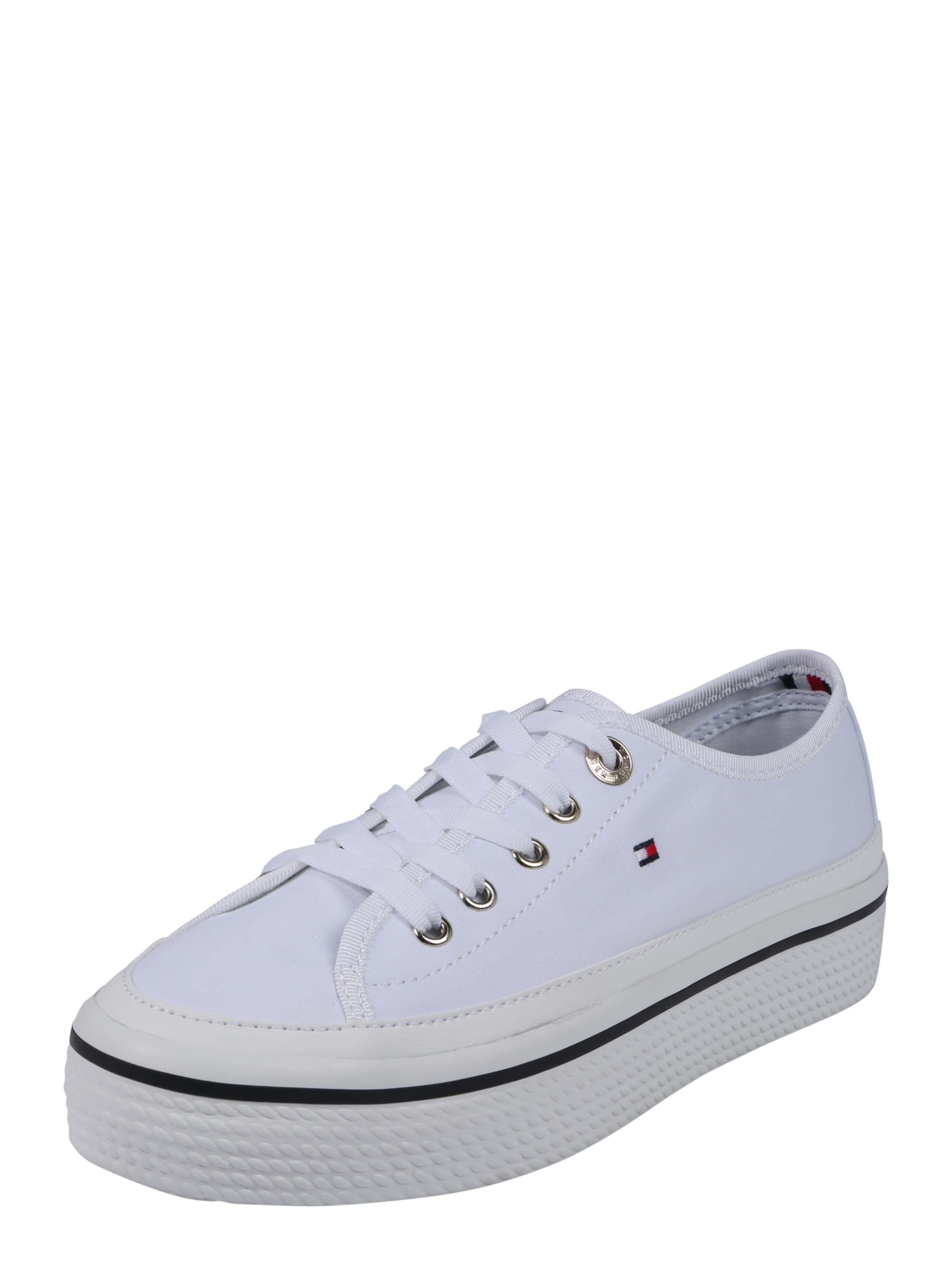 TOMMY HILFIGER Sneaker CORPORATE FLATFORM Hohe Qualität