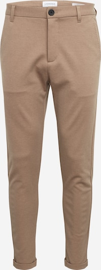 Lindbergh Hose 'Knitted cropped pants' in sand, Produktansicht