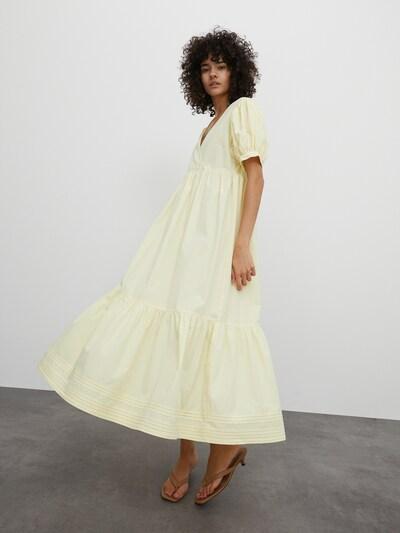 EDITED Kleid 'Cybil' in gelb, Modelansicht