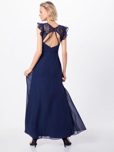 Vakarinė suknelė iš SWING , spalva - tamsiai mėlyna jūros spalva: Vaizdas iš galinės pusės