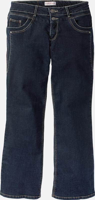 sheego denim Jeans mit streckender Wirkung