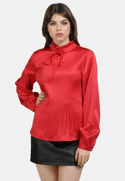 Bluză MYMO pe roșu rodie, Vizualizare model