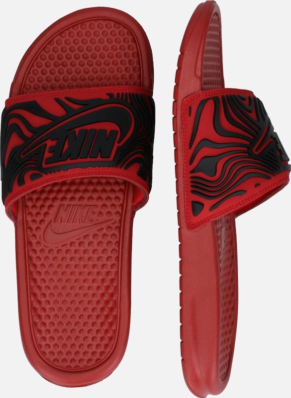Rouge Se' Sportswear Jdi En Noir Nike 'benassi ClaquettesTongs PnO0X8wk