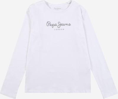 Pepe Jeans T-Shirt 'HANA' en gris / blanc, Vue avec produit