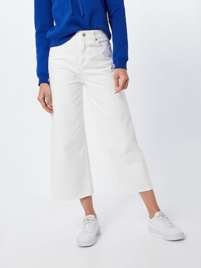 UNITED COLORS OF BENETTON Jeans in weiß: Frontalansicht