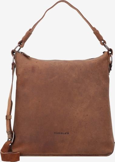 Harold's Schultertasche 'Antic' in braun, Produktansicht