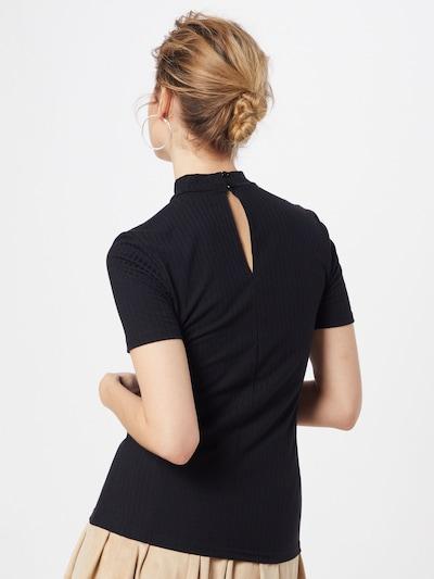 PIECES Shirt 'PCKYLIE' in schwarz: Rückansicht