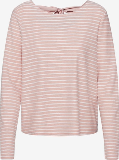 ONLY Pull-over 'ONLELLY STRIPE TOP' en rose / blanc, Vue avec produit