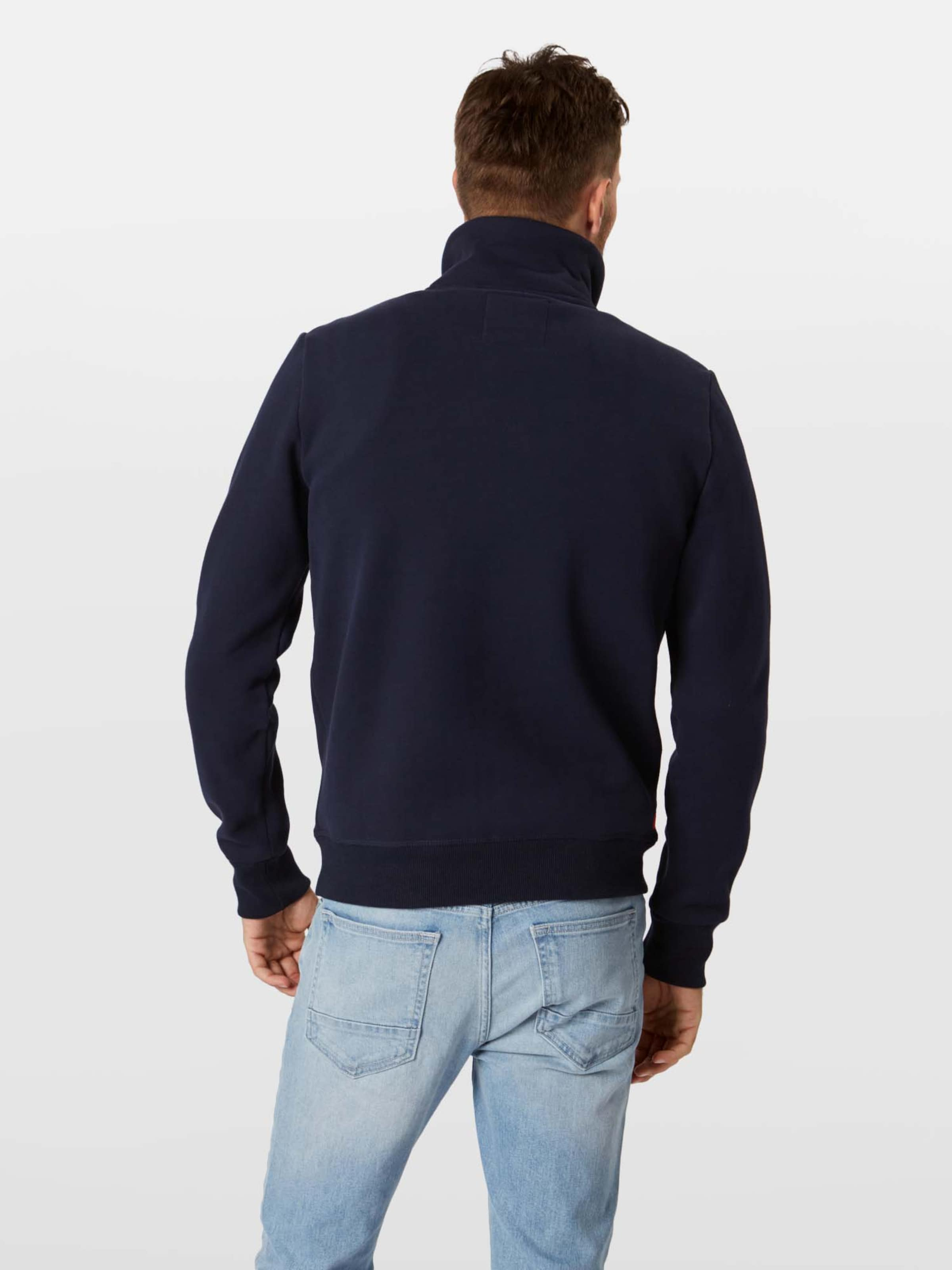 In Goods Top' Superdry 'premium Track Sweatjacke Navy Yfyb76g