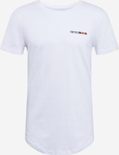 TOM TAILOR DENIM T-Shirt in weiß, Produktansicht