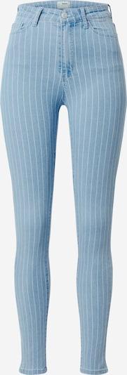 Jeans Tally Weijl pe denim albastru / alb: Privire frontală