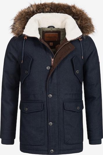 INDICODE JEANS Winterparka ' Baynes ' in de kleur Donkerblauw, Productweergave