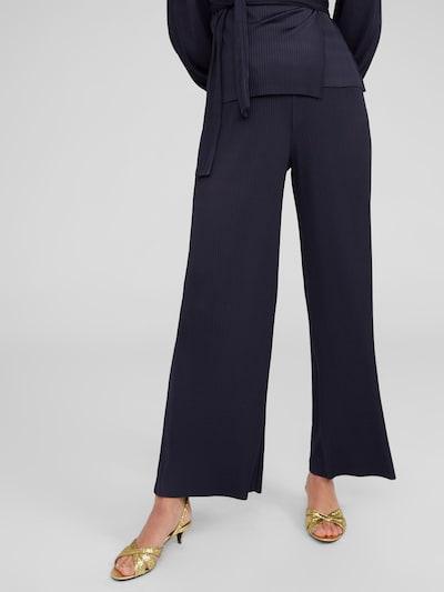EDITED Kalhoty 'Pepita' - modrá, Model/ka
