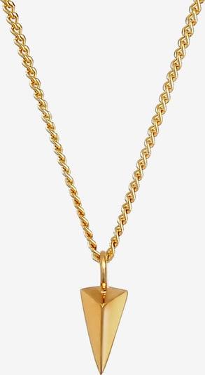 ELLI Halskette Dreieck, Geo in gold, Produktansicht