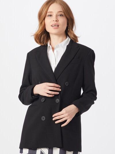 Ottod'Ame Blazer  'GIACCA' in schwarz, Modelansicht