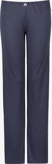 HUBER Schlafanzughose '24 Hours Women Sleep' in indigo / weiß, Produktansicht