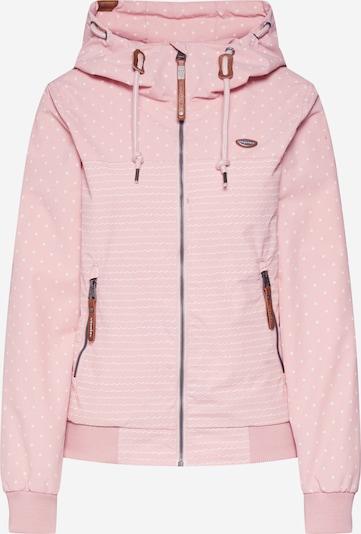 Ragwear Jacke  'NUGGIE MARINA' in rosa / weiß, Produktansicht